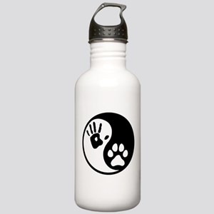 Human & Dog Yin Yang Stainless Water Bottle 1.0L